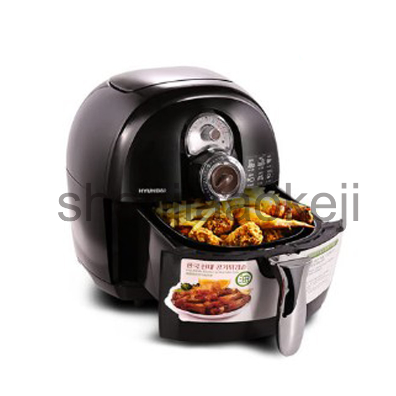 Oil-free air fryer household electric fryer large-capacity fries machine fried chicken authentic 220v 1400w 1pc 220v non stick lcd electric deep fryer oil free and smokeless electric air fryer french fries machine for home using