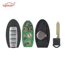 цена на KIGOAUTO smart key 5 button 433mhz ID46 chip 2013 2014 2015 2016 2017 2018 for Nissan Armada Infiniti QX56 QX80 CWTWB1G744