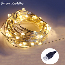 Waterproof led christmas light 2M 20LED  Silver wire led String Light battery powered For Christmas /Wedding Xmas garland party