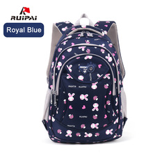 Ruipai Школьные сумки Рюкзаки для мальчиков и девочек школьный полиэстер милый кролик рюкзак ранцы удобные Mochila рюкзак