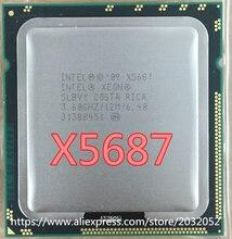 Intel xeon x5687 prozessor (3,6 ghz/12 mb/4 kerne/buchse 1366/6. 4 gt/s qpi) original server cpu kostenloser versand