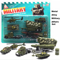3 Sets/Lot 1:64 Mini Toy Diecast Cars Metal Alloy Military Vehicles Armored Car Dinky Models Toys For Children Brinquedos Toy