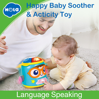 HOLA 3122 Baby Soother & Activity Toy with Music / Light Develop Baby Intelligence Baby Activity Grasping Toy