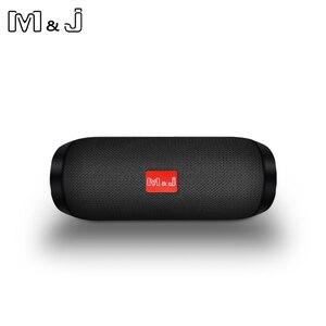 Bluetooth-Колонка M & J TG117, беспроводная водонепроницаемая портативная уличная мини-колонка, колонка parlante boombox, Громкая Колонка AUX TF 10 Вт, колонка