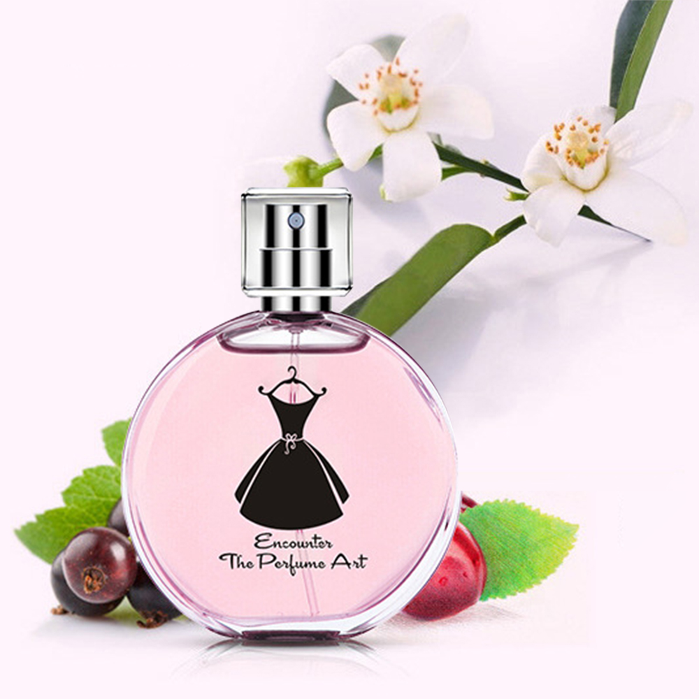 50ml Women Parfum Deodorant Female Perfume Long Lasting Fresh Flower Scent Sweet Fragrance Antiperspirant Spray Flower Parfumes