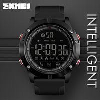 SKMEI Sports Bluetooth Digital Wristwatches Fashion Smart Watch Men Pedometer Calorie Remote Camera LED Military Watches Relogio