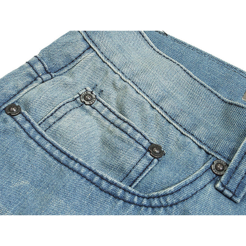 30 Graisse Nouveau Sept 40 La Blue D'été 2018 Européen Lâche Hip Culottes Jeans hop Taille De 42 Grand Plus Et 46 Américain Shorts Hommes 44 HdpwP