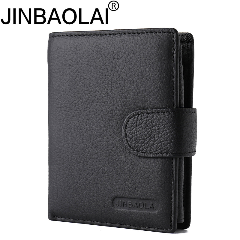 Jinbaolai famous brand luxury retro designer genuine leather purse for men 2017 new arrivals fashion hot sale men's wallets evans v milton j dooley j fce listening