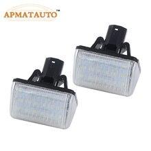 2 шт. Белый светодиодный номерной знак лампочки Canbus для Mazda CX-5 6 03 13-CX-7 07 eo Kuga galaxy OEM заменить