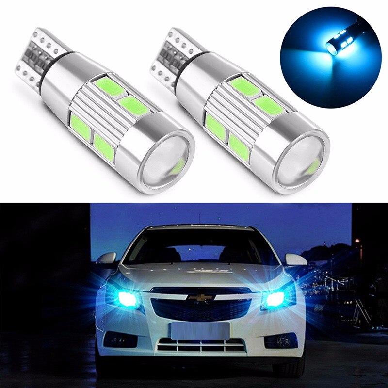 4 PCS Car Styling De <font><b>Voiture</b></font> Auto <font><b>LED</b></font> T10 194 W5W Canbus 10 SMD 5630 Ampoule <font><b>LED</b></font> Pas erreur <font><b>LED</b></font> Lumiere Parking T10 <font><b>LED</b></font> Side
