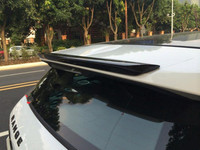 For Land Rover Range Evoque Rear Roof Spoiler Wing High Quality ABS Material Unpainted and paint color white black 2010 2017