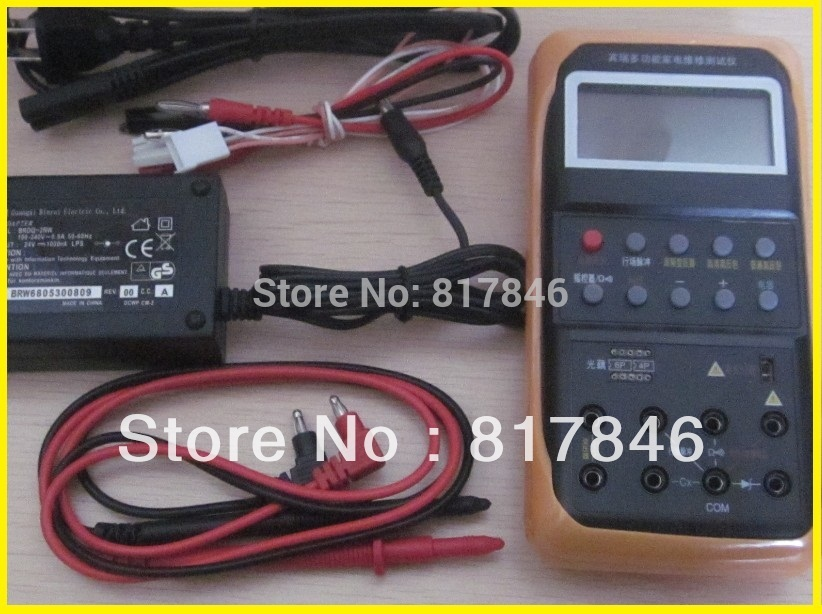 Free ship BR886A Multifunction lamp appliance repair tester light test/Voltage regulator tube Optocoupler Ignitor Coil capacitor стоимость