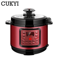 CUKYI Multi functional Programmable Pressure Cooker Rice cooker Pressure 900W slow cooking pot Cooker 220V EU P