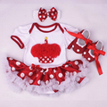 Baby Girl Clothes 3pcs Clothing Set Summer Newborn Infantil Vetement Fille Tutu Skirt Cheap Children Roupas Infantis Menina Saia