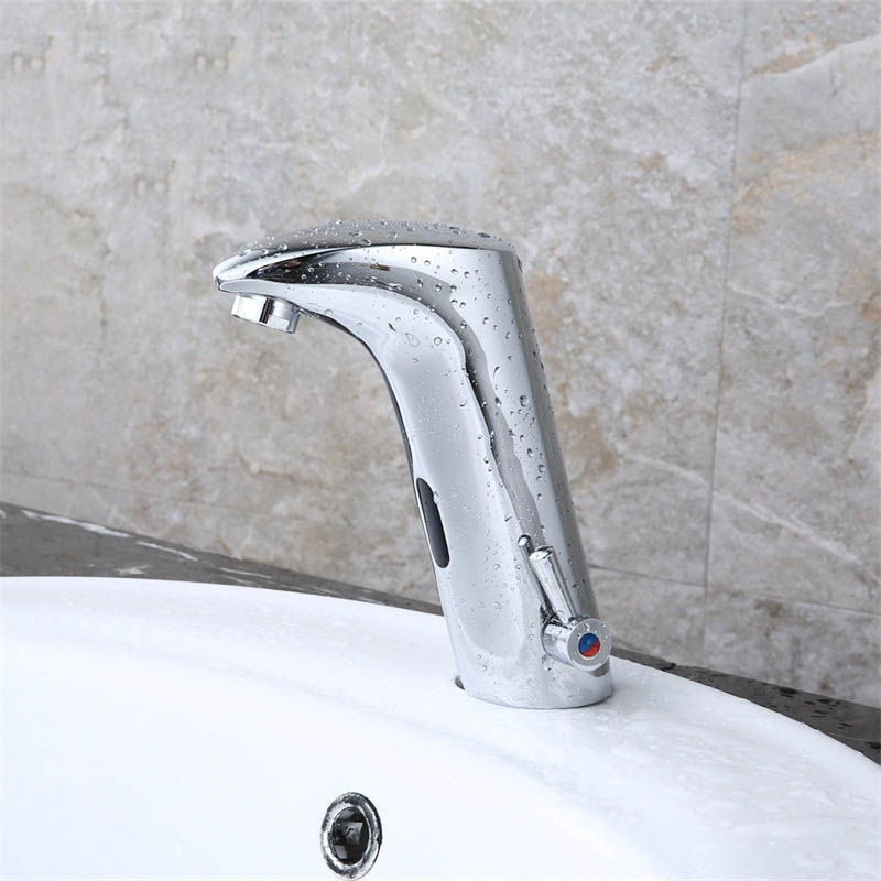 Free Shipping/SAMOEL Automatic inflared Sensor Faucet for Kitchen bathroom Basin Sink water saving Inductive electric Water Tap free shipping new discount countertop bathroom automatic sensor faucet for hotel home water saving tap zr6130