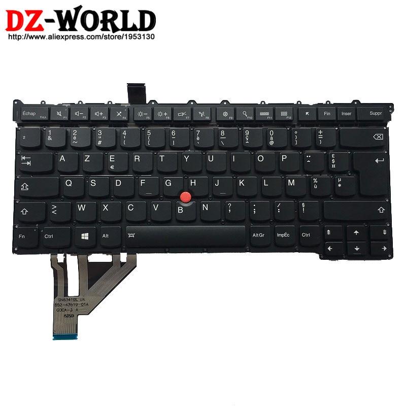 New Original for Lenovo Thinkpad X1 Carbon 3rd TYPE: 20BS 20BT Backlit Keyboard FR France French Backlight Teclado SM20G18616 new original portuguese backlit keyboard for lenovo thinkpad t460p backlight teclado 00ur417 00ur377 sn20j92002