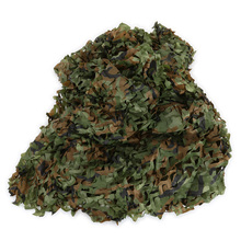Hunting Camping Camo Net 3X4m Woodland Leaves Camouflage Net Jungle Leaves Camo Net For Military Car Shade Cloths Cover german elite m42 ss oak leaves camo hunting smock de 505134