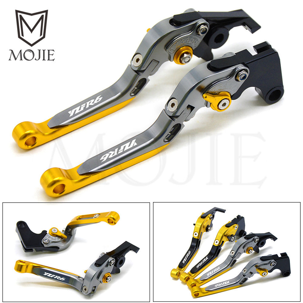 Motorcycle CNC Aluminum Brake Clutch Levers For YAMAHA YZF R6 YZF R6 2005 2016 2006 2007