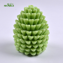 Three-dimensional cylinder type 3d silicone handmade candle molds,silicon molds for