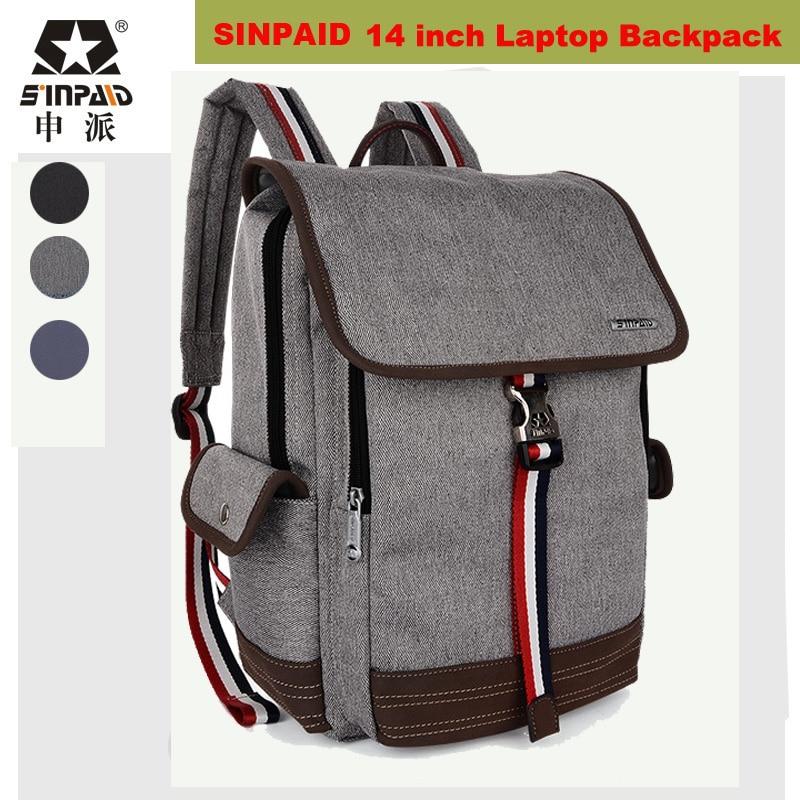 ФОТО Korean Fashion 14 inch Laptop Backpack Bag Notebook Computer Bag School Bagpack for Teenagers men women Mochila Feminina Bookbag