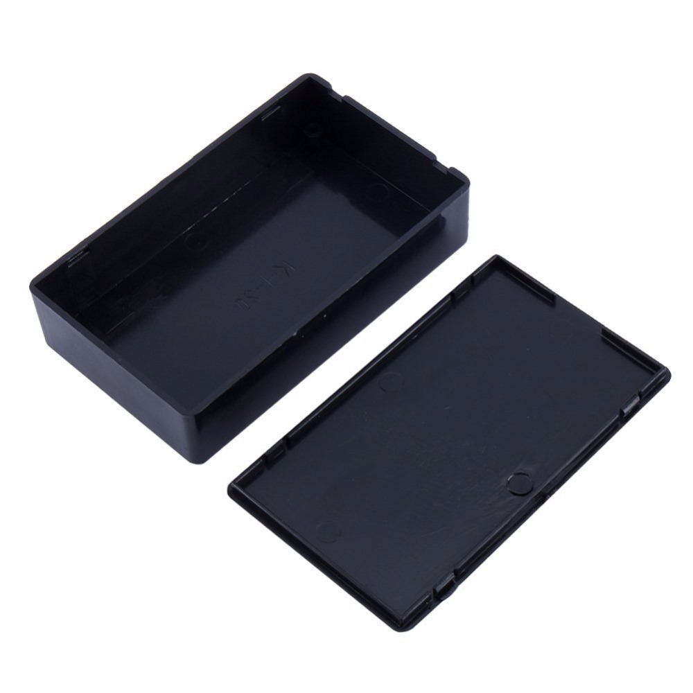 1PCS Plastic Electronic Project Box Enclosure Instrument Case 100x60x25mm 4pcs a lot diy plastic enclosure for electronic handheld led junction box abs housing control box waterproof case 238 134 50mm