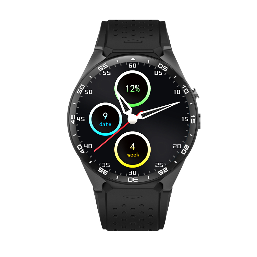 Round Smart Watch Android Montre Connecter SIM Card 3G ...