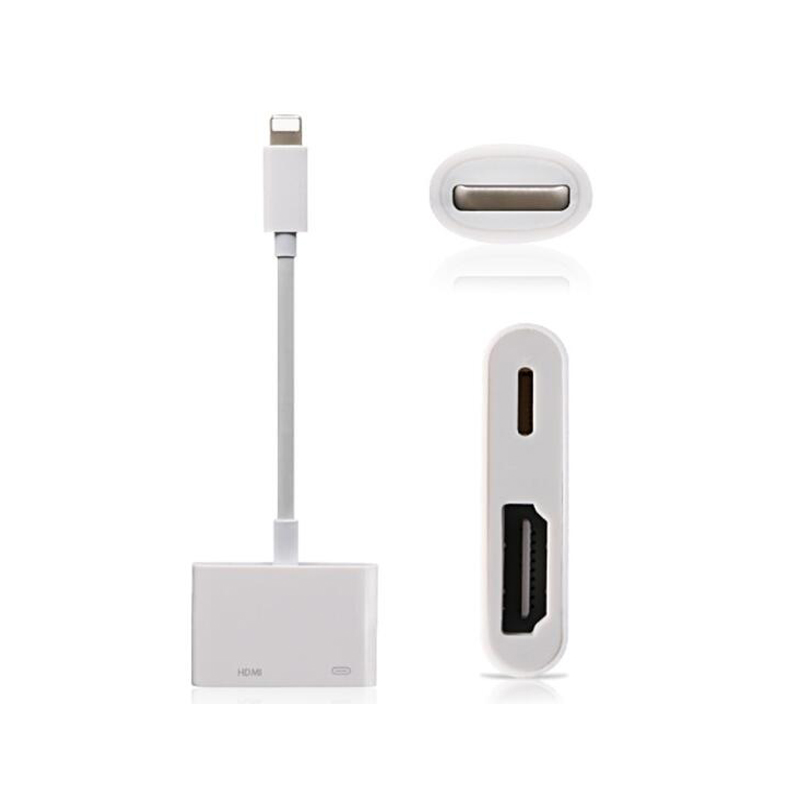 For IPad To HDMI Adapter For Lightning To Digital AV HDMI 4K USB Cable Connector 1080P HD Adapters For Iphone X 8/7/6/Ipad Air