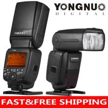 YONGNUO YN600EX-RT II ttl Master Flash Speedlite для камеры Canon 2,4G беспроводная 1/8000s HSS GN60 Поддержка авто/Ручное Масштабирование
