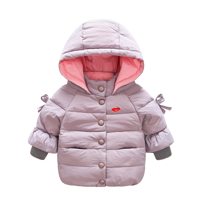 Bibicola 2017 Winter Boys Coat Children Thicken Hooded Parkas Kids Girl Sport Jackets Warm Outerwear& Coat Clothes