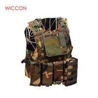 Soldier Military Uniform Camouflage Vests Airsoft Nylon Vest Molle Army Combat Tactical Vest