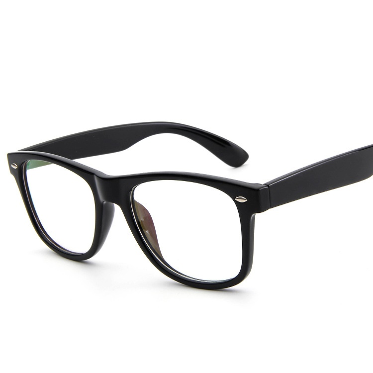 SOLO TU New Classical Superstar Style Rivet Eyewear Frame Men Women ...