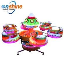 Мини Летающая карусель поворотный стол для детей аттракционы парк аттракционов игра воды и рыбалка стол