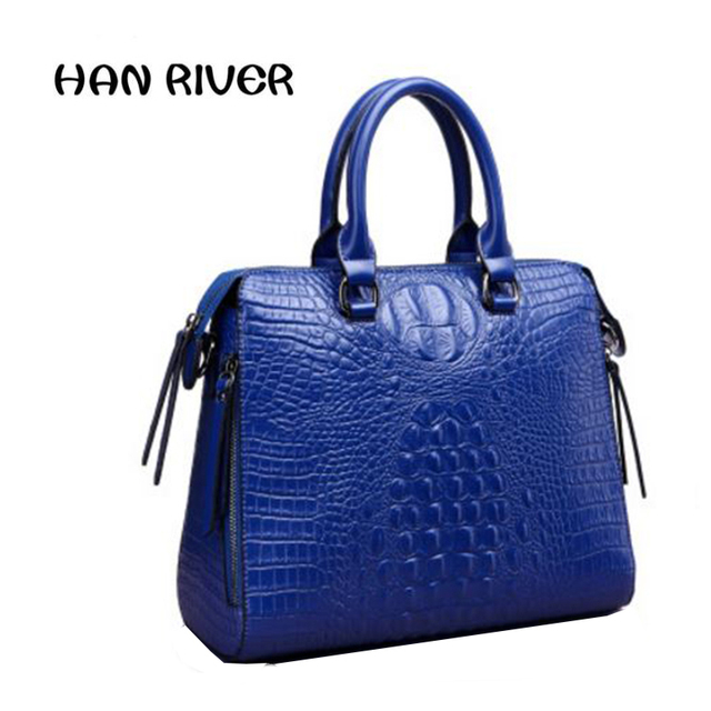 2017high Quality Hot S Women Bag Elegance Classic Fashion Handbag Leather With Female Color Bright