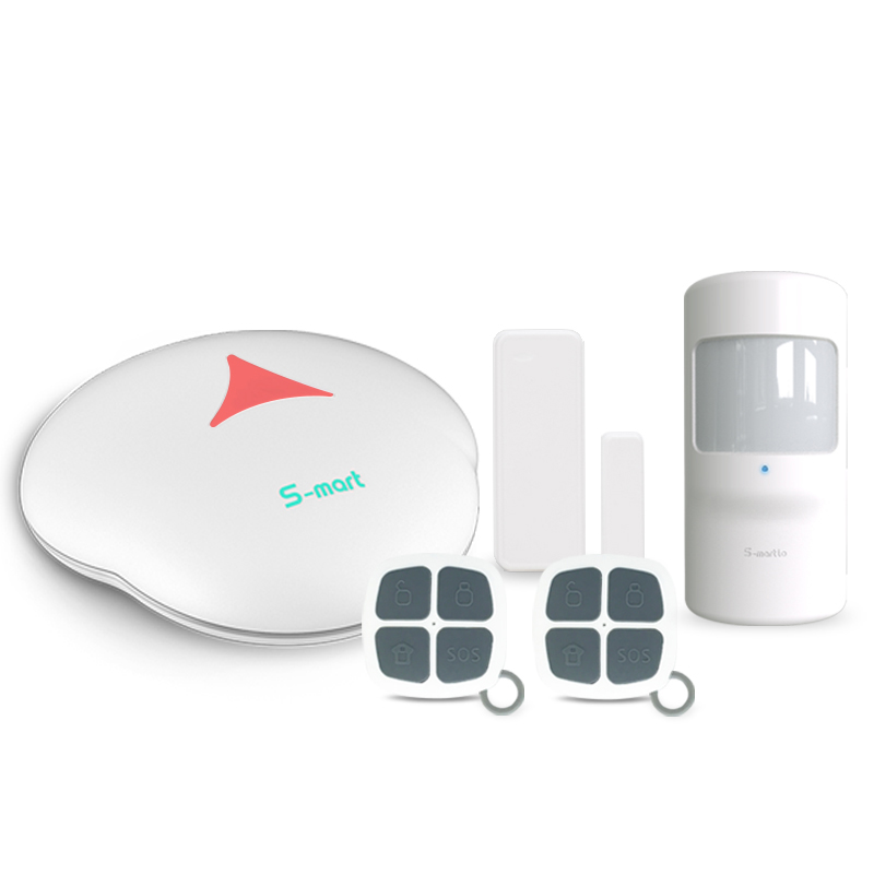 GSM home  alarm  system  doorbell  function  alarm P2P  mobile  control GSM alarm kit two-way audio multi languages alarm system
