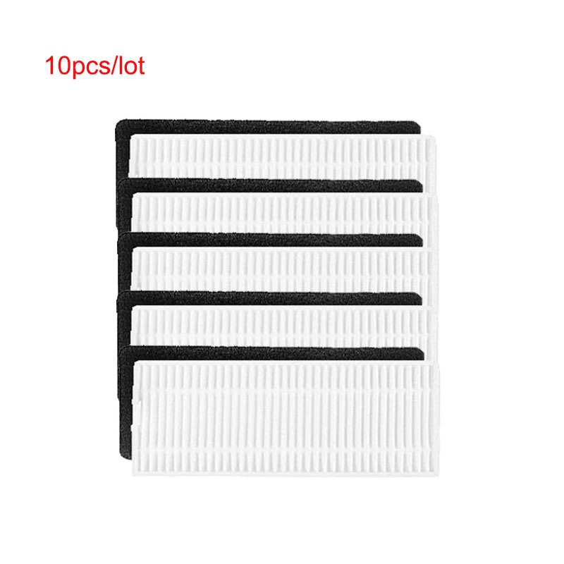 5sets Hepa & Foam Filter Dust Cleaning Filter Replacements For Ecovacs Deebot N79S N79 Eufy RoboVac 11 HEPA Filter Spare Parts