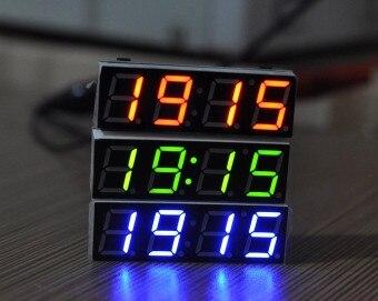 Бесплатная доставка высокая точность DS3231SN цифровые часы модуль из светодиодов цифровые электронные часы