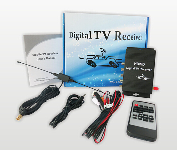 SSS-CAR car digital tv atsc tuner with over 180km/h freeview television for United States Equiped with Best Antenna dvb t2 car 180 200km h digital car tv tuner 4 antenna 4 mobility chip dvb t2 car tv receiver box dvbt2