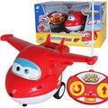 GRANDE Jato Super Asas Taxiando Avião Robô Figuras de Ação Super Asa de Controle Remoto helicóptero RC para o presente das crianças Brinquedos