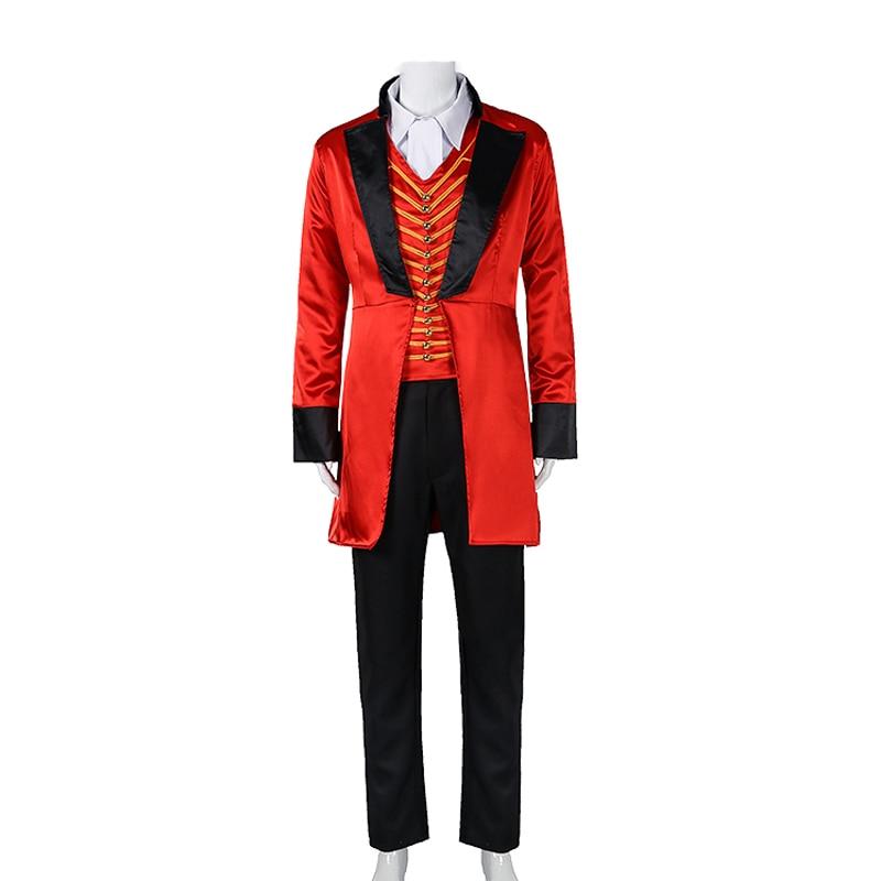 Film chaud le plus grand Costume de Showman P.T. Costume de Cosplay Barnum adulte hommes tenue Version deux Costumes d'halloween sur mesure