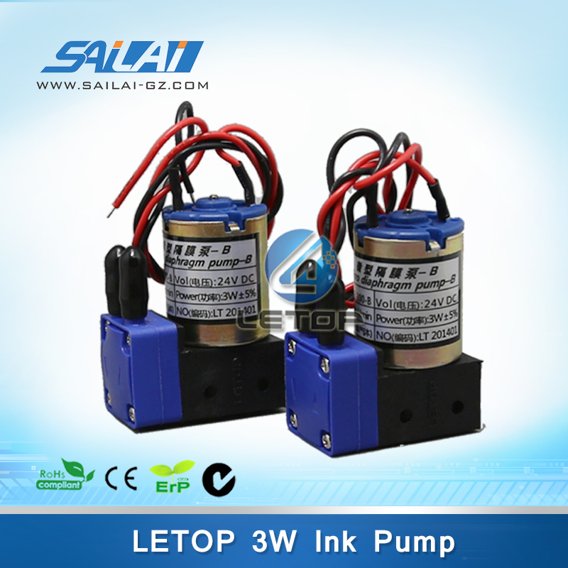 Free Shipping 8pcs Letop 3w 24v DC Small Ink Pump 100-200ML For Infiniti Phaeton Challenger Gongzheng Icontek Printer Ink Pump title=