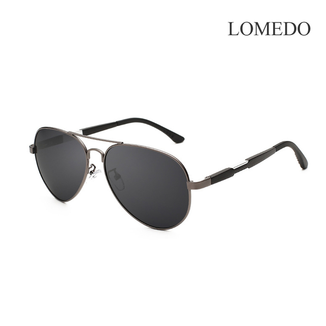 b7ebefae02 LOMEDO Nueva Marca gafas de Sol Polarizadas de Los Hombres Classic Retro  Gafas de Piloto de