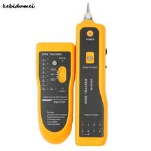 Kebidumei 1pcs JW-360 RJ45 Cat5 Cat6 Telephone Wire Tracker Tracer Toner Ethernet LAN Network Cable Tester Detector Line Finder
