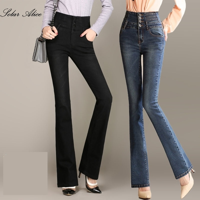 Buy high waisted bell bottom jeans