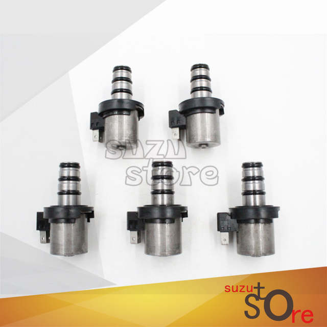b6a0a70d391f US $50.66 7% OFF|GOLKAR 5PCS Transmission Shift Solenoid Kit Set F4A41  F4A42 F4A51 V4A51 for HYundai/Kia for Mitsubishi 5 6 Speed -in Automatic ...