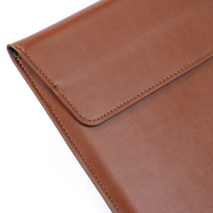 Image 4 - Кожаная сумка для ноутбука Macbook Air PRO 13, чехол 11 12 15, чехол для ноутбука из искусственной кожи, ультрабук, сумка для переноски
