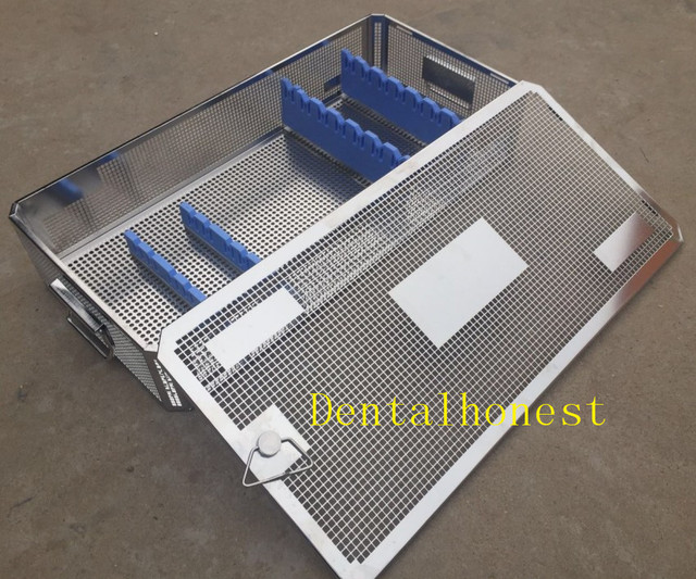 Stainless steel Laparoscope sterilization tray case surgical instrument