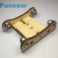 A Funssor Wooden Printrbot Adjustable Spool Coaster 3 D Printer Filament Holder Spool Holder