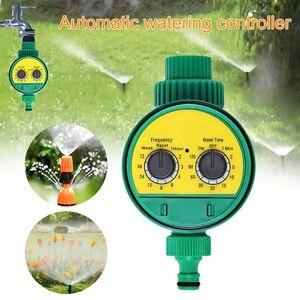 Image 2 - אוטומטי חכם השקיה בקר LCD תצוגת השקיה טיימר צינור ברז טיימר חיצוני עמיד למים אוטומטי על Off