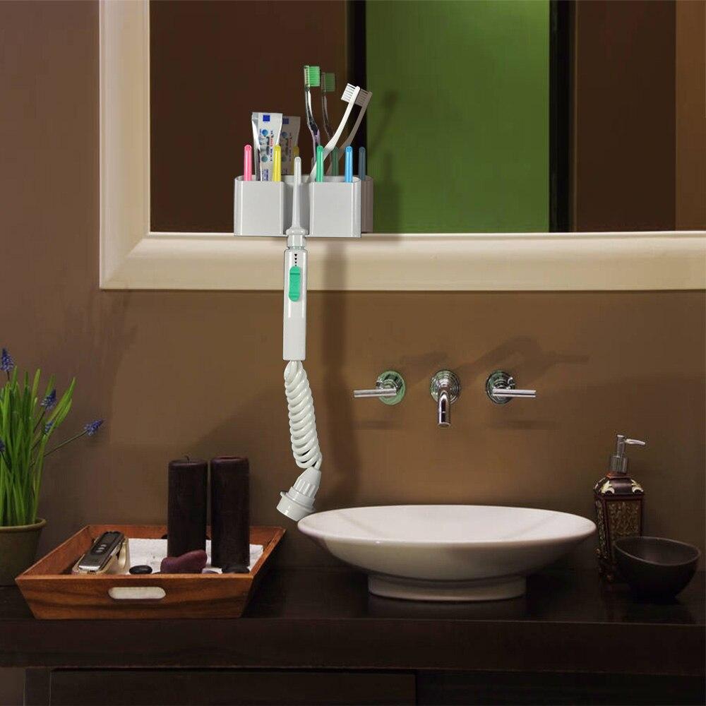 Hot 6 buse robinet Oral Jet irrigateur eau dentaire Flosser Portable dent SPA nettoyant brosse à dents Oral Irrigation dents nettoyage