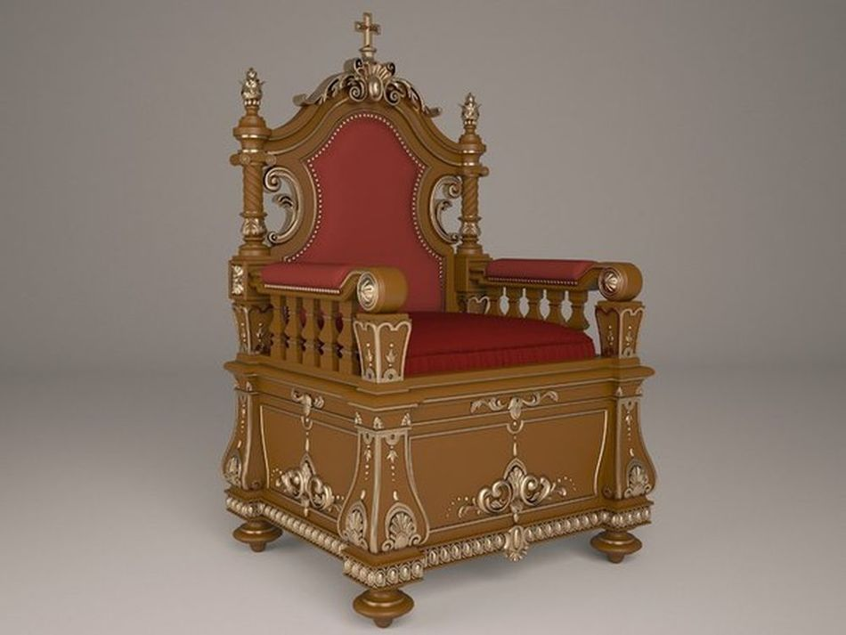 throne_1 3d model relief  for cnc in STL file format 3d model relief for cnc in stl file format chest leg furniture leg 78